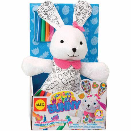 Color Cuddle Bunny