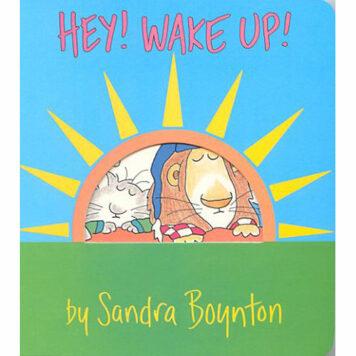 Boynton: Hey! Wake Up Paperback