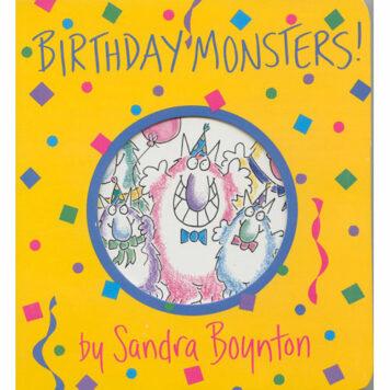 Boynton: Birthday Monsters! - Paperback