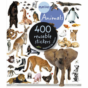 Eye Like Stickers: Animals Paperback