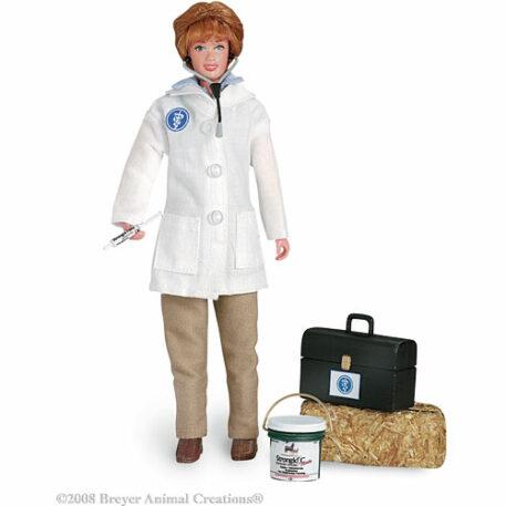 "Veterinarian with Vet Kit 8"" Figure"