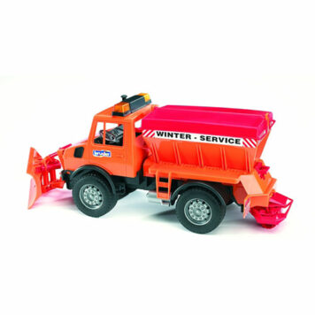 Mb Unimog W Snow Plow