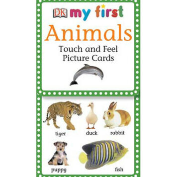 My First Touch Feel Picture Cards: Animals