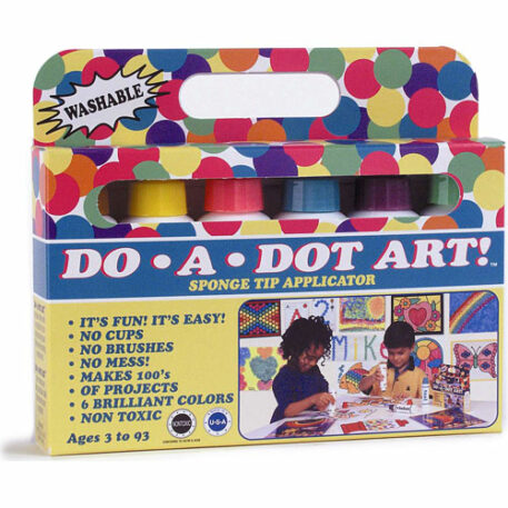 Dot-Art Markers 6-pk Brilliant [Washable]