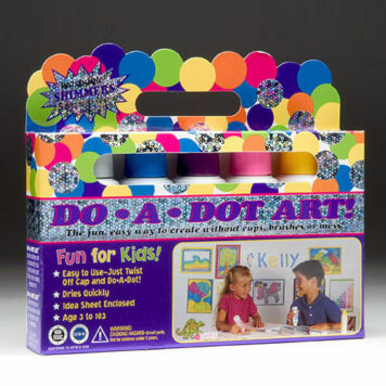 Dot-Art Markers 5-pk Shimmer [Washable]