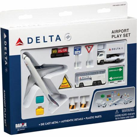 Delta Air Lines Playset