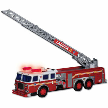 Fdny Ladder Truck W/Lights & Sound
