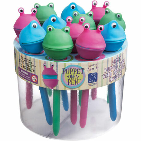 Puppet-On-A-Pen Counter Display (24 Units)