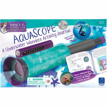 Nancy B's Science Club Aquascope & Underwater Activity Journal