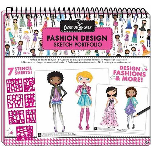 Fashion Design Sketch Portfolio Awesome Toys Gifts