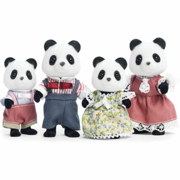Wilder Panda Bear Family