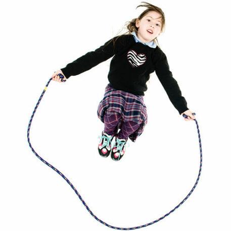 8 Foot Jump Rope-purple