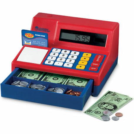 Pretend Play Calculator Cash Reg