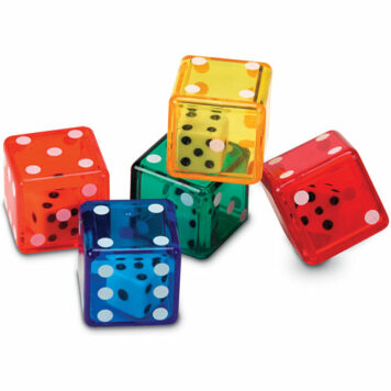Dice In Dice -set of 72