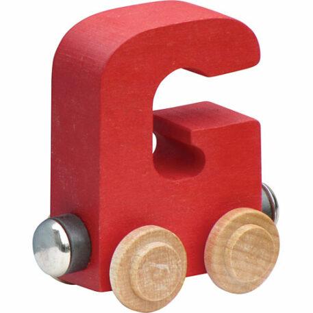 Nametrain Bright Color Letter G