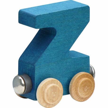 Nametrain Bright Color Letter Z