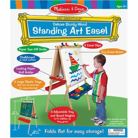 Deluxe Wooden Standing Art Easel