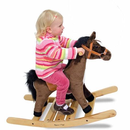 Rock & Trot Plush Rocking Horse