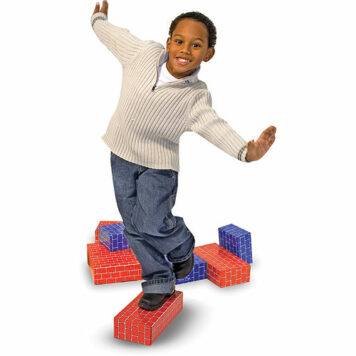 Deluxe Jumbo Cardboard Blocks (40pc)