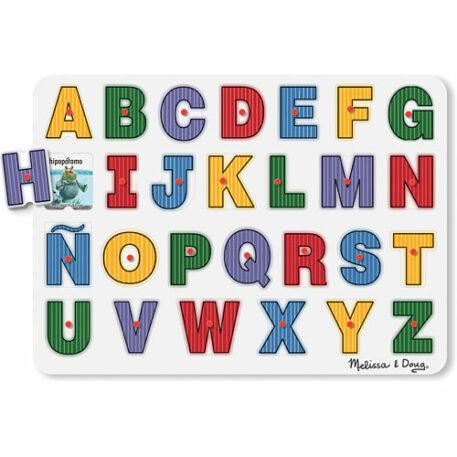 See-Inside Spanish Alphabet