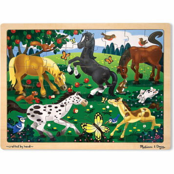 Frolicking Horses (48pc)