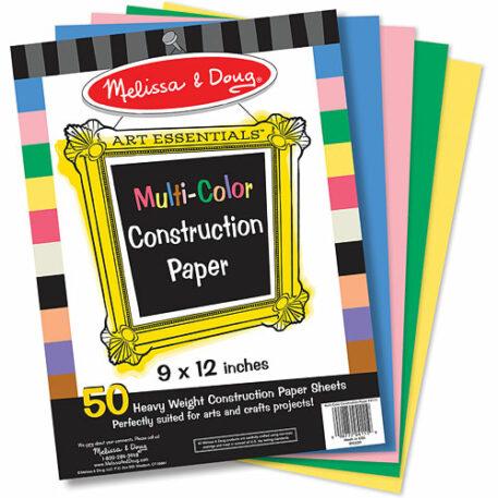 Multi-Color Construction Paper
