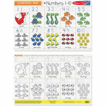 Numbers 1-10 (Bundle of 6)