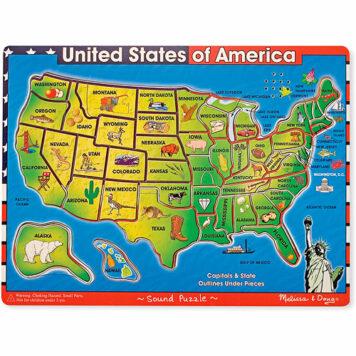 U.S.A. Sound Puzzle