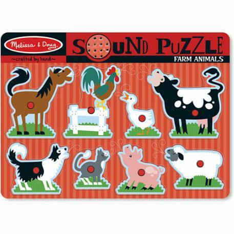 Farm Animals Sound Puzzle