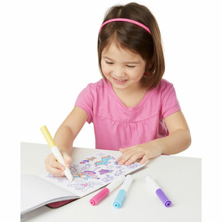 Color-Your-Own Sticker Pad - Pink