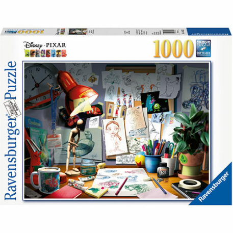 The Artist's Desk (1000 pc Puzzle)