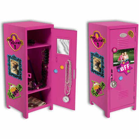 Girl Talk Locker W/ Magnets