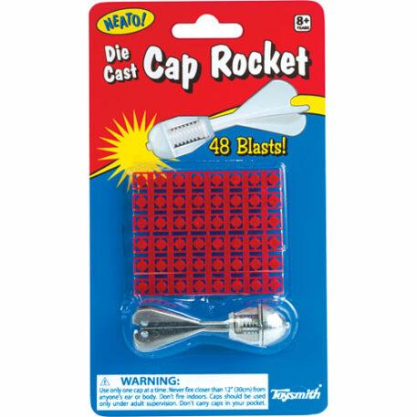 Die Cast Cap Rocket