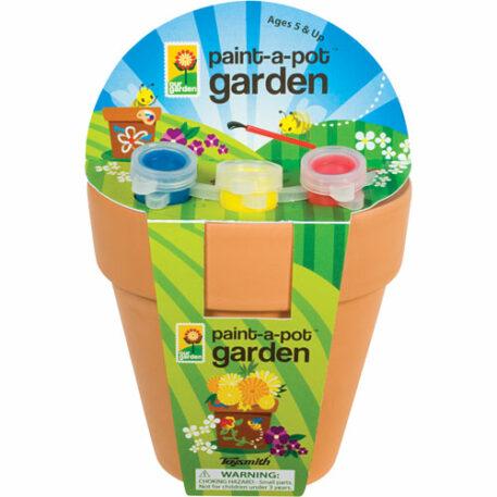 Paint A Pot Garden