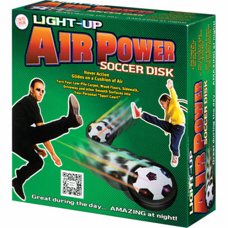 Light Up Air Power Soccer Disk