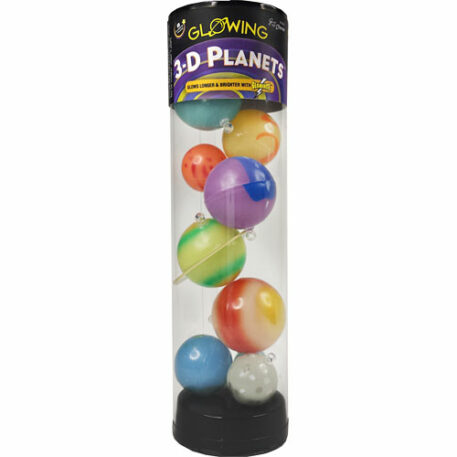 3-d Planets In A Tube
