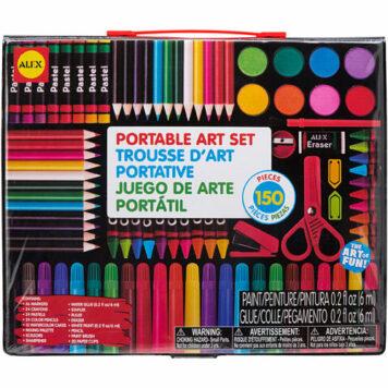 ALEX Toys Artist Studio Portable Art Set