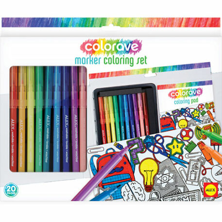 ALEX Art Colorave Marker Coloring Set