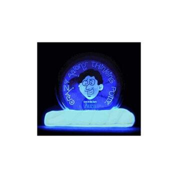 Crazy Aaron's Aura Glow in the Dark Thinking Putty 2 inch Mini Tin