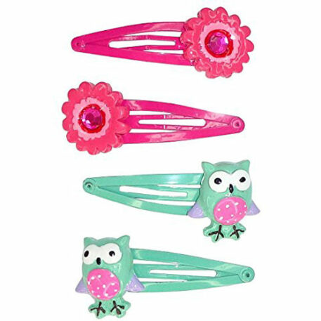 Creative Education Fl-Owl Power Hairclips (4 Piece)