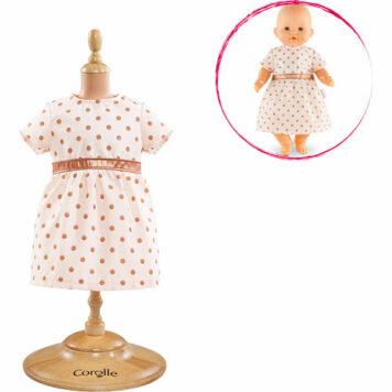 """Corolle Mon Classique Pink Gold Dress (14"""")"""