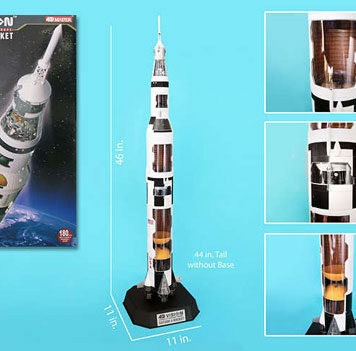 4D Vision Saturn V Cutaway Model 1/100