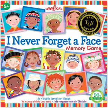 I Never Forget a Face Memory Game E