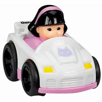 Fisher-Price Little People Wheelies Single Sports Car