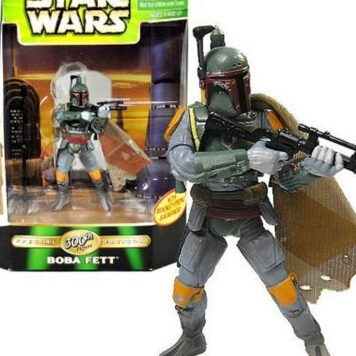 Star Wars POTF2 Power of the Force Special Edition 300th Action Figure Boba Fett