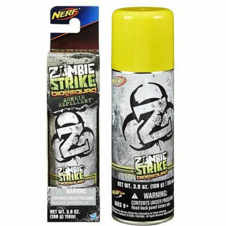 Nerf Zombie Strike Biosquad Zombie Repellent Can