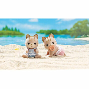 Calico Critters Sandy Cat Twins Doll