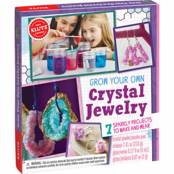 GROW YOUR OWN CRYSTAL JEWELRY