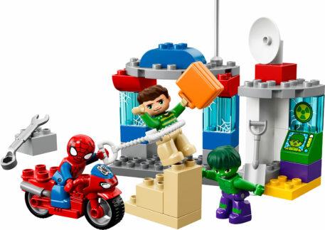 DUPLO Super Heroes - Spider-Man & Hulk Adventures