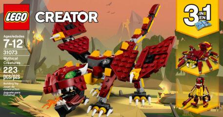 LEGO Creator - Mythical Creatures